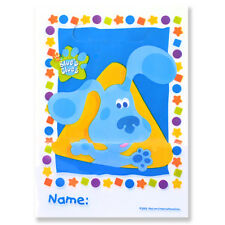 BLUE'S CLUES Shapes FAVOR BAGS (8) ~ Birthday Party Supplies Loot Goody Treat
