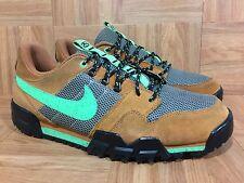 RARE🔥 Nike x Stussy Mogan 2 OMS Premium Ginger Poison Green Sz 11 576349-205 LE