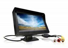 "Monitor LCD TFT 4.3"" Color Coche Camper Para Cámara Marcha Atrás Vista Trasera"