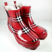 Norty - Womens Ankle Boots -  Waterproof Boot Size 8 Red/White/Black
