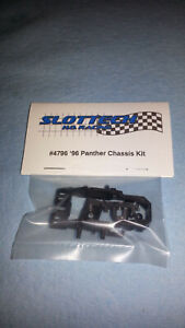 Slottech #4796 '96 Panther Chassis Kit w/ Extras