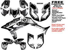 DFR ICON GRAPHIC KIT BLACK FULL WRAP 04-05 HONDA TRX450R TRX 450 TRX450