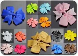 Hair Clip Hair Clips Bow Fabric Satin 34 Colors Girls' Women's