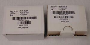New Genuine Fujitsu Kit PA03670-0002 Pick Roller and PA03670-0001 Brake Roller