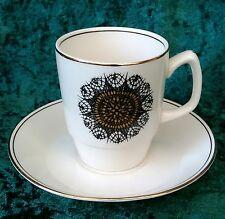 Rétro vintage empire image 70 soraya café une demi-tasse expresso tasse soucoupe 60s