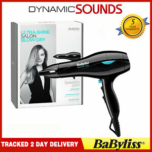 BaByliss 5541CU Pro Speed Professional Salon 2200W  Hair Dryer NEW