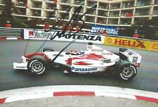 Olivier Panis 2004 Toyota TF104 Hand Signed F1 Racing Photograph