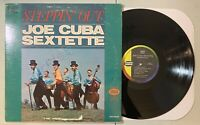 Joe Cuba Sextette - Steppin Out LP Seeco 80s Reissue Mambo Cha Cha VG