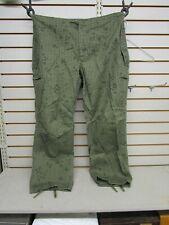 U.S. Military Desert Trousers Night Camo Sz Small-Long Vintage Gulf War Pants