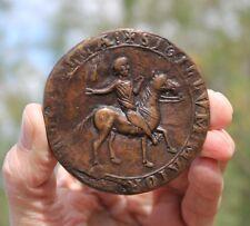 France, medaille, medieval Seal of La Rochelle, Knights Templar, Hugenots