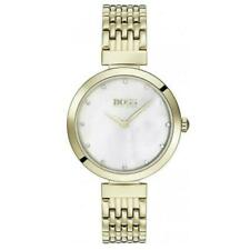 Brand New Hugo Boss Ladies Gold Celebration Slim Watch HB1502479