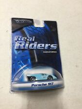 HOT WHEELS GULF PORSHE 917 Real Riders Die-Cast Car Limited Edition 2005