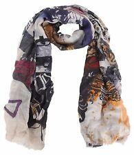 HEARTKISS Tuch Schal Scarf Shawl Größe 180 cm x 70 cm Wolle & Seide Wool & Silk