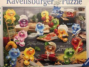 Ravensburger 2000 piece jigsaw puzzle Gelini Passionate Cooks