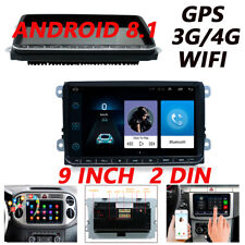 9'' HD Android 8.1 Car Stereo Radio Player 2Din GPS BT OBD Navigation Wifi 3G 4G