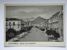 CASTROVILLARI lungo Corso Garibaldi Cosenza vecchia cartolina
