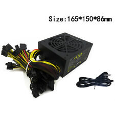 4pcs Mining Machine Power Supply 1600W for Bitcoin Miner Antminer A6 S7 110-260V