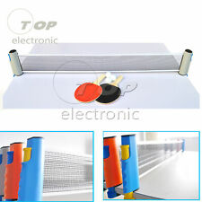 Games Retractable Table Tennis Ping Pong Portable Net Kit Replacement toy