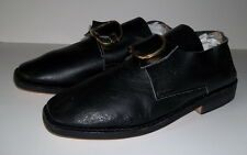 18th Century Colonial Mens Shoes w/Buckles(Size 9) French & Indian,Colonial-NEW