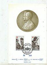 TIMBRE STAMP ZEGEL FDC BELGIQUE  NOS REINES ET LA CROIX ROUGE RED CROSS 1968