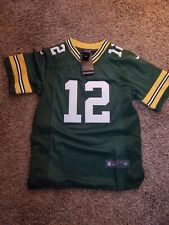Aaron Rodgers Green Bay Packers Youth Jersey Size Youth X-Large