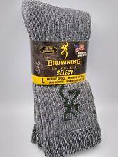 Browning 2pk Mens Merino Wool Socks- Irregular