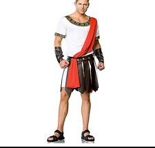 Men's Roman Caesar Costume Toga Emperor Costume Party Halloween