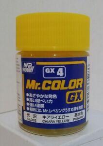 Gunze Sangyo Mr Color GX-4, Gloss Chiara Yellow, 18ml.