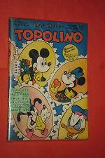WALT DISNEY TOPOLINO libretto n° 40- originale mondadori-1952 completo gioco
