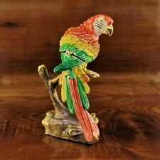 Parrot Bird Jewelry Trinket Box Decoration Animal Cute Present Fly Gift 02075