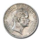 German States Friedrich Wilhelm IV Prussia 2 Thaler 1842 A Silver Crown KM-440.1