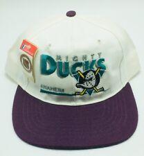 Vintage Mighty Ducks Snapback Anaheim NHL Hat Cap Dead Stock