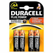 BATTERIE DURACELL PLUS STILO MN1500 PZ. 4 (18022)