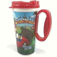 Walt Disney World Resort Rapid Fill Refillable Mug Cup Lid Travel Hot Cold Red