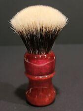 New ListingElite Razor Shaving Brush - 26mm Manchurian White Bulb Badger