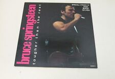 """BRUCE SPRINGSTEEN - Tougher Than The Rest - SPECIAL 12"""" MAXI SINGLE 33 RPM 1987"""