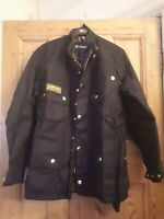 Barbour International Original 4190055 Mens Waxed jacket size 38
