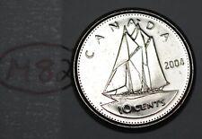 Canada 2004 P 10 cents Elizabeth II Canadian Dime Lot #M82