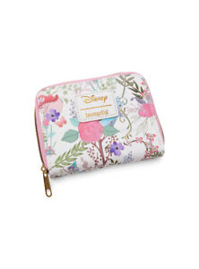 Disney Sleeping Beauty Flowers & Fairies Mini Wallet by Loungefly New, With Tags