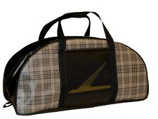 1960-1970 Ford Falcon Small Tote Bag Plaid with Official Falcon Emblem