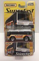 Matchbox Superfast City Bus Diecast Truck Metro City Bus 2005 NOS