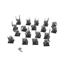 SKAVEN 18 plague monks #1 Warhammer Fantasy