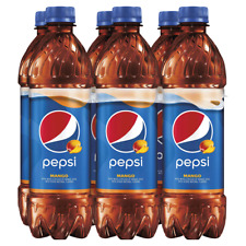 Pepsi Mango 16.9 oz Bottles (Pack Of 6)