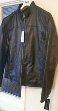 Cole Haan Men's Leather Jacket Size L RRP £460