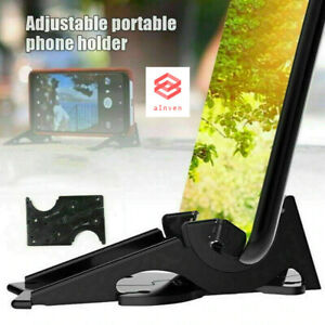 Universal Adjustable Portable Foldable Rotation Triangle Card Type Stable Pocket