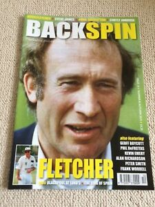 Backspin Cricket Magazine Kevin Emery,Arnie Sidebottom,1967 Season