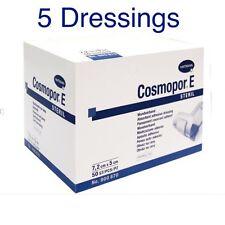 Cosmopor E sterile Adesivo Chirurgico BENDAGGI X 5 tagli, ustioni, ferite, di primo soccorso