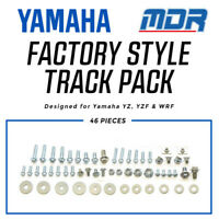 MDR Factory Bolt Track Pack Hardware Kit Yamaha YZ YZ WRF