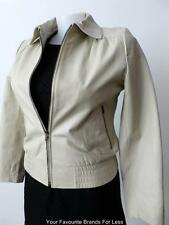 CAPTURE  Size 14 US 10 Ladies Long Sleeve Leather Zip Front Jacket