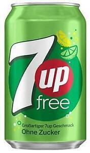 7-Up Free (24 x 0,33 Liter Dosen DE)